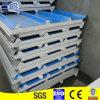 El panel de emparedado material de la azotea EPS del edificio de la estructura de acero con bajo costo