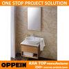 Vanità del Governo di stanza da bagno di modo di Oppein piccola con il bacino del cucchiaio (OP13-052-60)