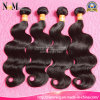 cabelo 100% ondulado do birmanês do Virgin da onda Burmese barato não processada do corpo do cabelo 8A humano