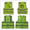 Veste reflexiva da segurança da visibilidade elevada amarela/veste de advertência