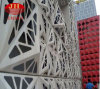 Panneau perforé en aluminium de décoration creuse pour des portes et Windows