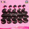 Естественные волосы девственницы черных волос перуанские волнистые 100% Unprocessed