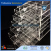Selling quente Wholesale Acrylic Cosmetic Makeup Organizer com Drawers