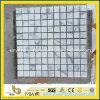 Bianco Carrara Marble Mosaic Floor Tile per Bathroom Decoration