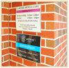 Placa fixada na parede do sinal da companhia/placa conhecida de negócio