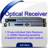High Performance Head End Return Return 16 Way Optical Receiver