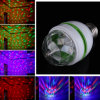 E27 3W Colorful Auto Rotating RGB LED Stage Bulb Light