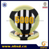 viruta de póker 2-Tone del ABS 11.5g 3-Stripe