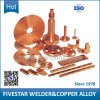 Berillio e Chromium Zirconium Copper Alloy Welding Parte