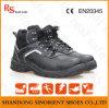 Kuh-aufgeteiltes Leder PU-alleinige Waldsicherheits-Schuhe (RS5850)