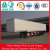 중국 Liangshan Factory Supply Cheap 3 Axle 40t Dry 밴 Semi Trailer, Box Truck Trailer