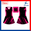 Healong ODM&#160 ; Pleine robe de Netball de dames de sublimation