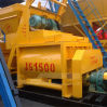 Shaft gemelo Stationary Electric Mini Concrete Beton Mixer (js1500)