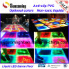 Ultra-Thin artístico colorido RGB líquido Panel LED Dance Floor