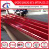 赤いカラーGIの構築のための波形の屋根ふきシート