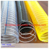 Tuyau renforcé flexible d'aspiration de l'eau de PVC de fil d'acier