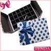 Boîte rigide articulée colorée à chocolat de carton d'impression amicale d'Eco