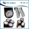 Câble industriel d'ABC de faisceau en aluminium isolé par XLPE de BT