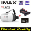 Kotaku Google Cardboard Vr Box Version Vr Virtual Reality Glasses + Bluetooth Mouse/Remote Gamepad + 8GB 3dgames Escrow