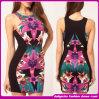 O Latest Version de Lapel Sport Dress com Short Sleeves Dress/Beach Dress