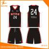 Healongデザインバスケットボールのジャージー軽量の最もよいデザイン