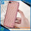 iPhone 6のための明確なピンクのBlingのダイヤモンドのきらめきの電話箱