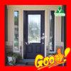 Qualité Wood Door avec la pièce Door de Glass