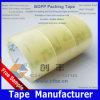 Embalaje aceptable del cartón del amo de la cinta del claro BOPP de la pequeña cantidad
