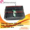 Wavecome GSM Modem/16は大きさSMSののためのGSMの変復調装置のプールをUSB/RJ45/RS232送るか、または変復調装置のプールGSMの変復調装置左舷に取る