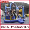 New stupéfiant Design Commercial Inflatable Bouncer Castle à vendre (J-BC-026)