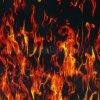 Черепа и пламя ширины Kingtop 1m конструируют гидрографическое окуная жидкостное изображение гидрографическое Film Wdf133-6