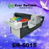 La caja/el cuero de cuero planos del teléfono de Digitaces cubre la maquinaria de impresión