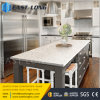 Partie supérieure du comptoir de marbre artificielles environnementales saines de quartz pour le décor à la maison