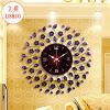 Reloj de pared del hierro labrado de Lishuo, fabricantes del chino del reloj de pared del metal