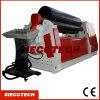 Máquina de dobra do rolo da placa W12-30*3000 hidráulica, máquina de rolamento da placa de 4 rolos