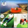 Sofa gonflable à une seule couche de Laysack de vacances campantes de festival de mise à jour