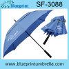 高いQuailtyのガラス繊維フレームの二重層のゴルフ傘(SF-3088)