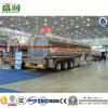 трейлер топливозаправщика масла алюминиевого сплава 45cbm жидкостный в Саудовской Аравии