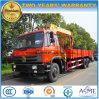 Dongfeng 6*4 10 roule le camion de 15 T monté avec 8 le prix de grue de T XCMG
