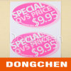 Price variopinto Label Sticker per Supermarket (DC-LAB025)