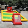 Sport Toys: Inflatable Soap Soccer Field Football Pitch Arena Game.