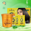 Kit de Relaxer del pelo de la mantequilla de mandingo de Tazol Silksoft