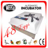 2014 le plus nouveau CE Approved Full Automatic Transparent 132 Quail Eggs Va-48 Egg Incubator à vendre