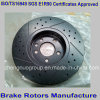 Car automatique Front Brake Rotors pour Ford Cars