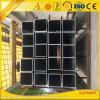 grand tube carré en aluminium de 100*100mm pour Windows et des portes