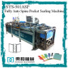 Spine clair Label Pocket Automatic Sealing/Welding Machine pour Flat File/Display Book/Clear Book