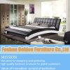 Кожаный кровать (2877#)