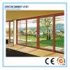 Portelli scorrevoli di alluminio e Windows di vetro Tempered di vetratura doppia di Roomeye