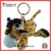 Doux et chaîne principale de jouet de peluche de giraffe de peluche