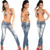 Señora atractiva Jeans (JBW0030)